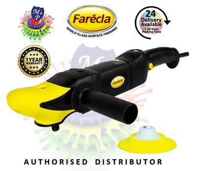 FARECLA GENUINE ELECTRIC BUFFER POLISHER 220Volt, 1 YEAR WARRANTY GPT001