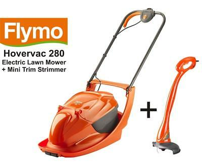 Challenge 29cm Plastic Blade 15L Corded Electric Hover Collect Lawnmower 1100W.