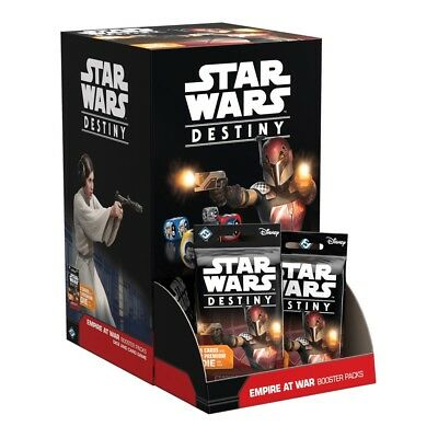 Star Wars Destiny Empire at War Booster Box Sealed