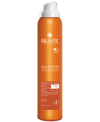 Rilastil Sole Sun System Spray PPT Spray Trasparente SPF15  200ml