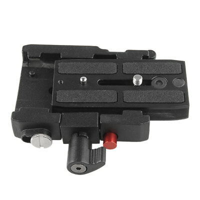 577 Connect Adapter with Mounting QR Plate 501PL For Manfrotto HEAD 701HDV Good