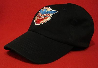 Continental Airlines Retro vintage Logo ball cap, navy-blue low-profile hat
