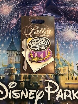 Disney Parks Lattes With Character Tangled Rapunzel LE Pin In Hand