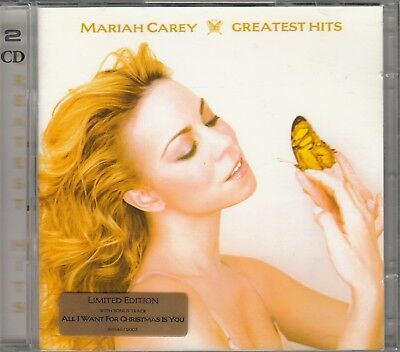 "2 X Cd Album  Mariah Carey  ""greatest Hits"""