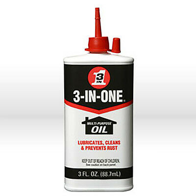 WD-40 3-IN-ONE 10035 Multi-Purpose Oil 3 oz. (Pack of 1)