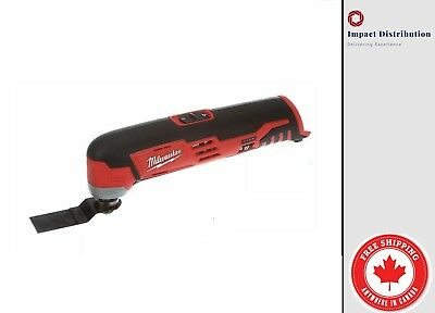 Milwaukee 2426-20 M12 cordless Multi tool Variable Speed Accessories TOOL ONLY
