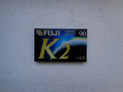 Vintage Audio Cassette FUJI K2 90 * Rare From 1995 *