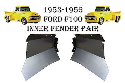 1956 FORD PICKUP TRUCK F-100 FRONT FLOOR PANS NEW PAIR!