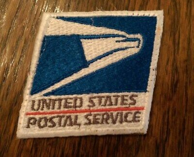 US Mail USPS Post Office Eagle Embroidered Logo Postal Patch