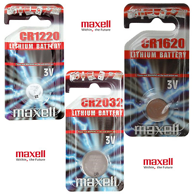 PILAS BOTON BATERIA PILA MAXELL CR2032 LITIO 3V BATTERY solo 1