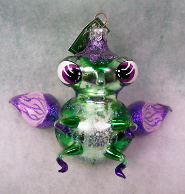 New SLAVIC TREASURES RETIRED GLASS ORNAMENT - STUMPY FLY