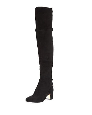 a048945da50f72 sz 6.5 NEW TORY BURCH Laila black Suede Over-the Knee womens Boots