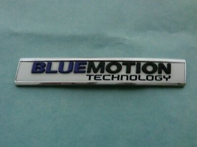 Genuine New VW VOLKSWAGEN BLUEMOTION TECHNOLOGY BOOT BADGE Emblem Polo 2014+