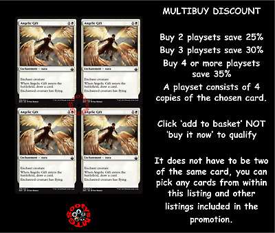 MTG Battlebond BBD Choose your Common Playset (x 4 cards) New Buy 2 save 25%