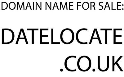 DATELOCATE.CO.UK - Domain name for sale - online dating website
