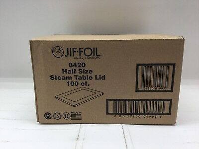 JIF FOIL Half Size Steam Table Lid, 100 ct. (Model 8420) *NEW