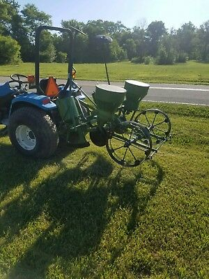 Oliver 2 Row Corn Planter sweet corn, food plots, markers Can ship