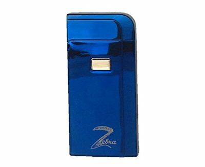USB Rechargeable Windproof Double Arc Lighting Bolt Lighter (Blue)