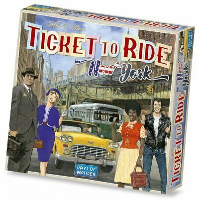 PREORDER Ticket to Ride New York Board Game