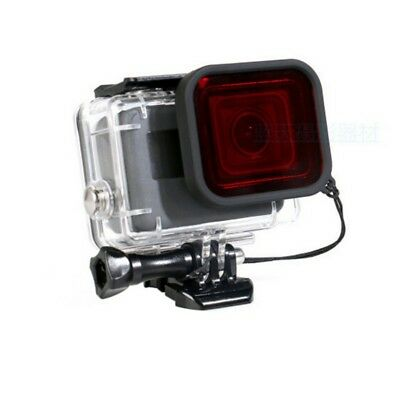 RED Diving Filter Lens Cover For GoPro Hero 6 5  Waterproof AU