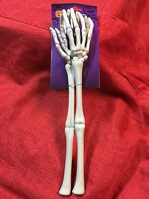 Halloween Gothic SKELETON HAND ARM TONGS SERVER Kitchen Utensils Tableware Party