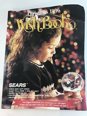 Sears 1996 Christmas WISH Book catalog LEGO Nintendo Sega Sony Star Wars  VTG