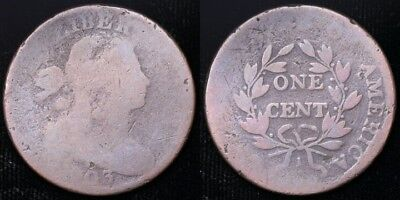 1803  Large Cent - Reverse cud