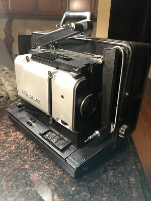 SINGER INSTALOAD-XL 16MM vtg cine SOUND film movie PROJECTOR Tested Working!