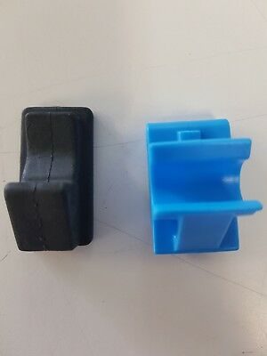 Genuine Holden VY - VZ Commodore Glovebox Hinge Clips & Bumpers - Up-Rated