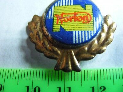 NORTON  motorcycle very old lapel,hat pin badge.
