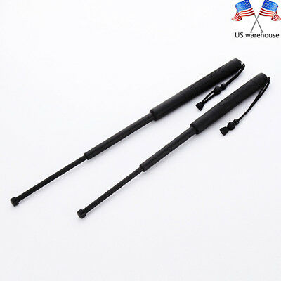 21'' Portable Retractable plastic +Metal Protector Outdoor Tool Telescopic Stick