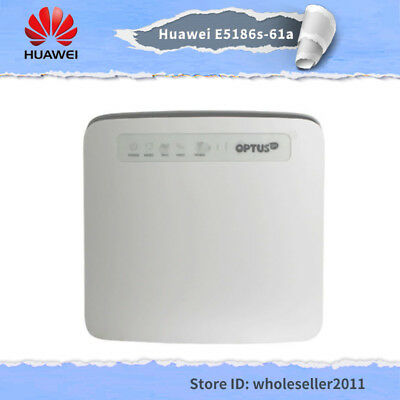 Unlocked Optus Huawei E5186s-61a 300Mbps 4G FDD TDD Wifi Mobile Hotspot Router
