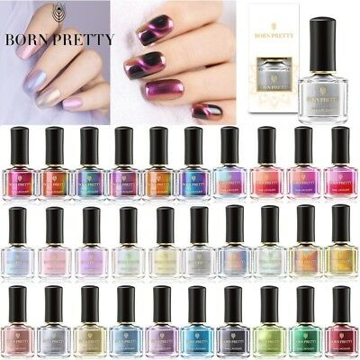 6ml BORN PRETTY Cat Eye Nail Polish Holographic Mirror Color Changing Effect DIY