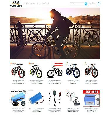 Established Cycling STORE Profitable Website Business For Sale - Dropshiping