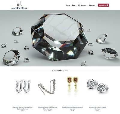 Jewelry Website Business For Sale - Earn £570.00 A SALE.Free Domain| Web Hosting