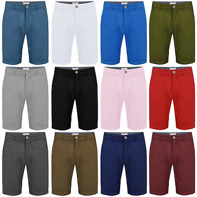 Mens Chino Shorts Stallion Casual Summer Cargo Combat Cotton New Twill Half Pant