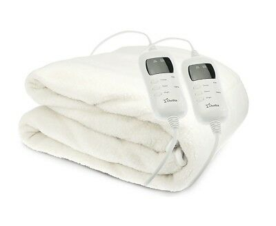 Stella Fleece Electric Blanket - King