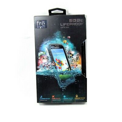 Lifeproof Case For Samsung Galaxy S4 Fre Genuine Shock Water Proof Black 1802-01