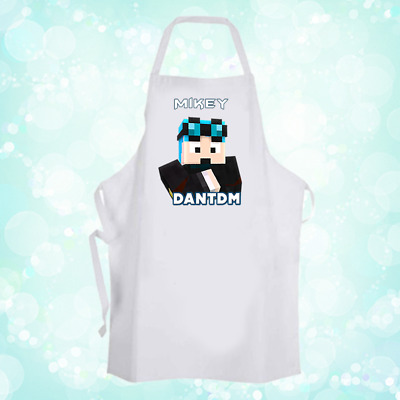 Personalised DAN TDM Chef Baking Cooking Apron Unique Gift