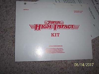 Midway Williams Super High Impact Installation Owner Manual Operation football