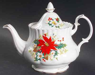 Royal Albert POINSETTIA Tea Pot 6109853