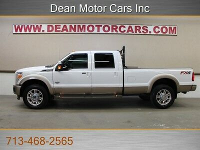 F-350 6.7L DIESEL 4X4 F350 SRW KING RANCH NAV SUNROOF 2014 Ford F-350 6.7L DIESEL 4X4 F350 SRW KING RANCH NAV SUNROOF CARFAX