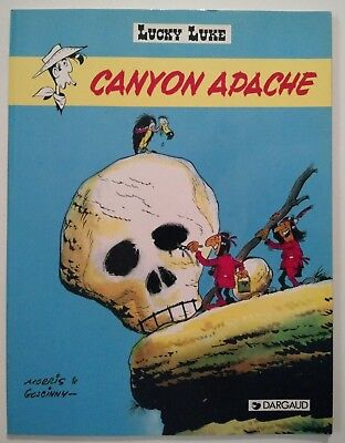 Lucky Luke ** Tome 37 (6) Canyon Apache **  Ed Speciale Mc Donalds Comme Neuf