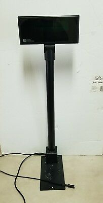 Logic Controls Pole Display, NEW, Model PDX3000-UP-BK