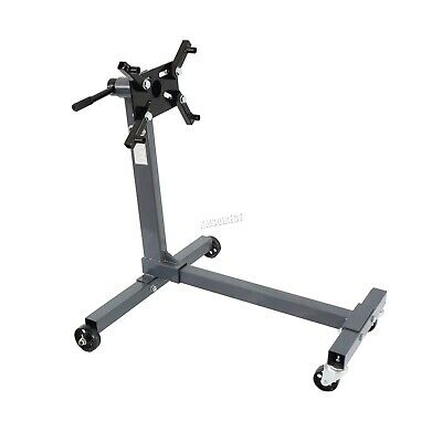 SwitZer Swivel Transmission Gearbox Engine Support Stand 1000 lbs 450kg Wheels