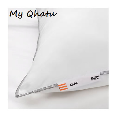Ikea Firmer Bed Pillow White Standard Queen 20 X 26 Machine Washable