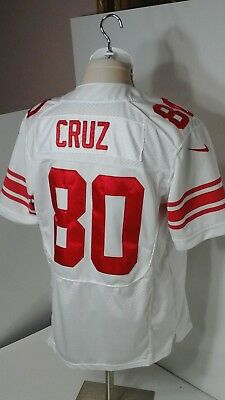 VICTOR CRUZ NEW York Giants Size 44 Nike On Field Jersey Stitched  for sale