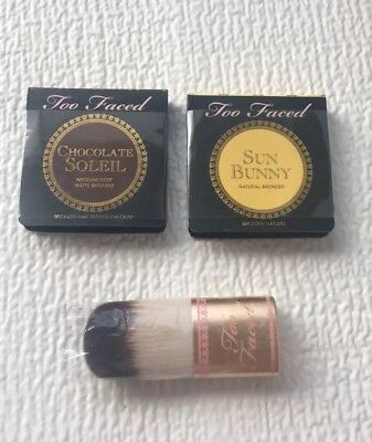 Too Faced chocolated soleil & Sun Bunny Natural Bronzer x2