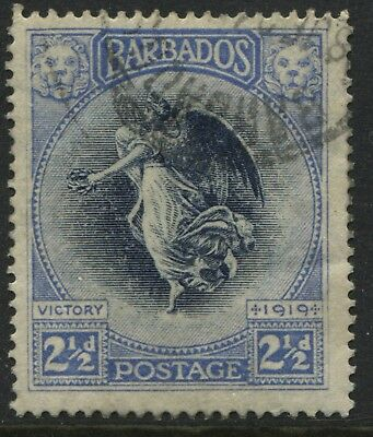 Barbados 1920 Victory 2 1/2d used