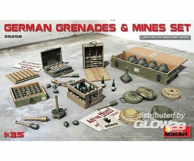 MiniArt 35258 German Grenades u. Mines Set in 1:35